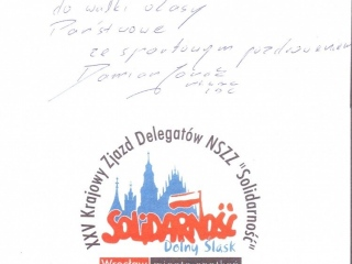 Dedykacja od Damiana Jonaka MŚ WMC