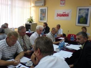Posiedzenie Komisji Krajowej , na które przybył Pan Premier Jarosław Kaczyński wraz z Ministrem Przemysławem Gosiewskim - Warszawa 22-23 sierpnia 2006 r.