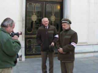 Wręczenie list sprzeciwu Marszałkowi Sejmy RP 20.10.2010