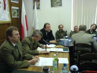 """Zebranie sprawozdawczo wyborcze MKK NSZZ """"Solidarność"""" w RDLP we Wrocławiu, - 21 kwietnia 2006 r."""